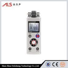 Portable Long recording Time Rechargeable 8GB Flash Drive Support SD TF Card VOX Digital Voice Recorder with MP3 Player