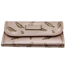 Newest hollow feather pattern clutch bag;wallet