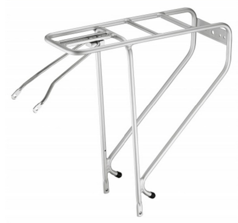 High Quality Optional Spring Clip Alloy Rear Bike Luggage Carrier