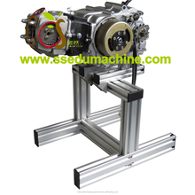Diesel Engine Cutting Model With Electrical Motors Movement Engine Trainer