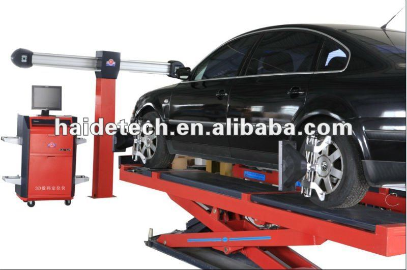 electronic wheel alignment equipment with CE & ISO Certificate