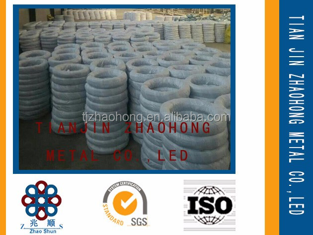 Best quality hot dipped galvanized iron wire packed in gunny bag factory direct prcie