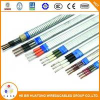 Rubber Insulation 3/4 cores 10MM2 oil resistant cold resistant flat round submersible deep well pump cable