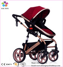 baby stroller pram with carriage / classical big wheels baby pram / foldable baby stroller