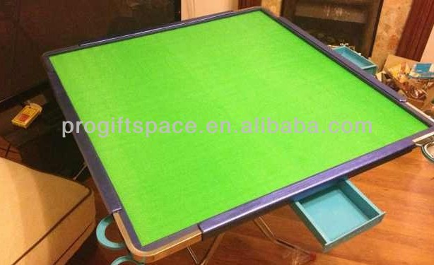 2017 hot sell eco friendly handmade felt mahjong table mat