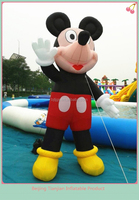 Popular cute outdoor cartoon character toy inflatable mickey mouse