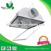 double ended air cooled reflector/ auto air filter/ aluminum grow light reflector