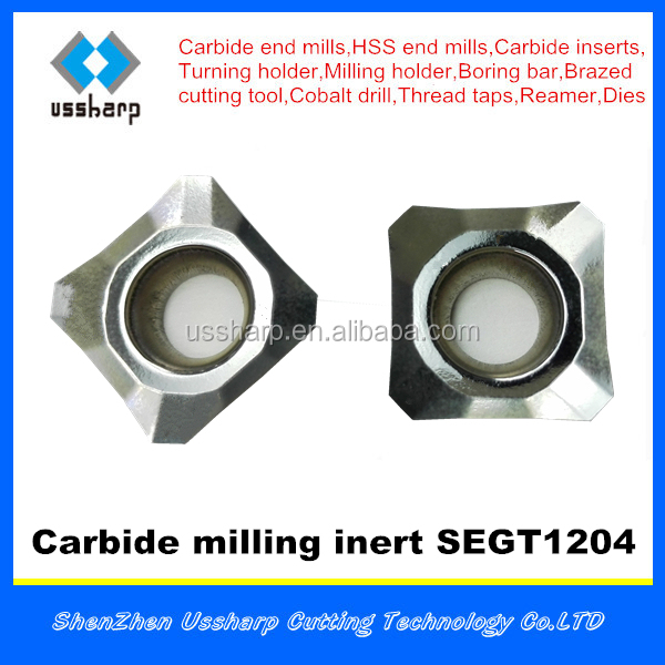milling insert SEGT,carbide insert SEGT,SEKT for aluminium cutting