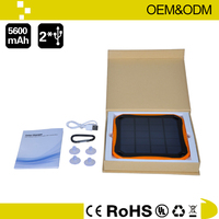 Portable Solar Charger for laptop, MP4 and other digital devices solar charger for mobile