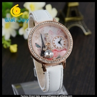WJ-4567 fashion eiffel tower adorn luscious girl watch fancy watches women