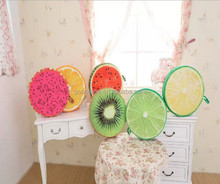 Christmas decoration item colourful fashion custom fruit cushion