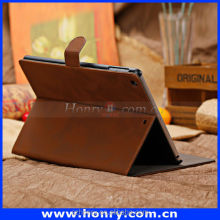 New design classical leather cases for ipad air leather cover for sale