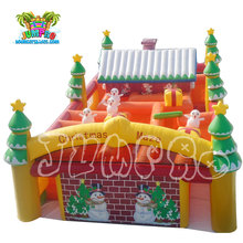Interesting Christmas inflatable outdoor obstacle amusement maze game for sale