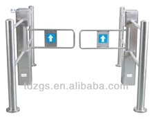 Supermarket barrier gate,security electronic counter turnstile by infrared sensor