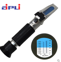 Sugar meter handheld refractometer fruit sweetness meter 0-32 cutting liquid milk concentration meter honey refractometer