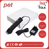 2015 Hot sale rechargeable pet hair clipper/pet hair clipper/professional pet clipper