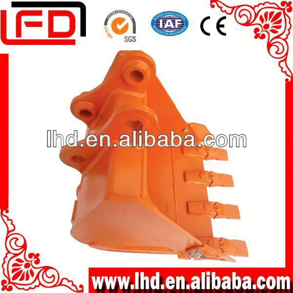 Earth moving machinery parts excavator part rock bucket with high quality