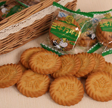 Hot sale Evergreen Onion flavor good biscuit cracker manufacturer