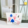 Eco-friendly fashion style colorful printable canvas cotton bag