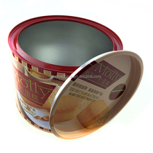 Food grade caviar tin can/tin box/tin container