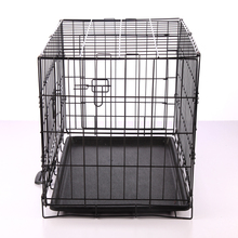 China alibaba wholesale outdoor large dog cage with wheels