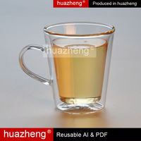 High Quality Borosilicate Handmade Water Pot