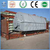 Recycling Machine Full continuous Special Design Pyrolysis Waste Plastic/Tyre Getting Furnace Oil