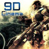 Top 2015 electric platform 9D cinema equipment/6dof motion Hydraulic 9D theater chair for 9D simulator