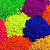 Fluorescent pigment for nail polish, dipping powder phosphor powder