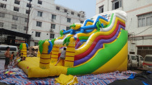 High quality rainbow water slide/commercial water slide/giant inflatable water slide for adult
