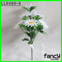 9 heads cheap wholesale artificial cemetery flowers