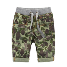 CB8009 custom wholesale boys camouflage short pants