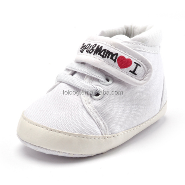 Baby Shoes Casual Canvas Soft Sole Toddler Shoes for First Walker Shoes