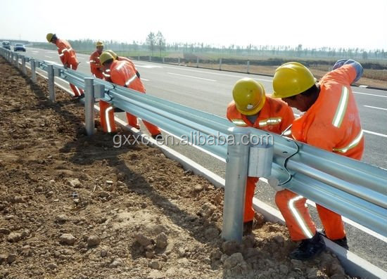 construction safety road safety guardrail