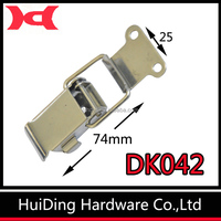 Stainless Steel Spring Loaded Latches / Compression Hasp Lock For Cabinet DK042