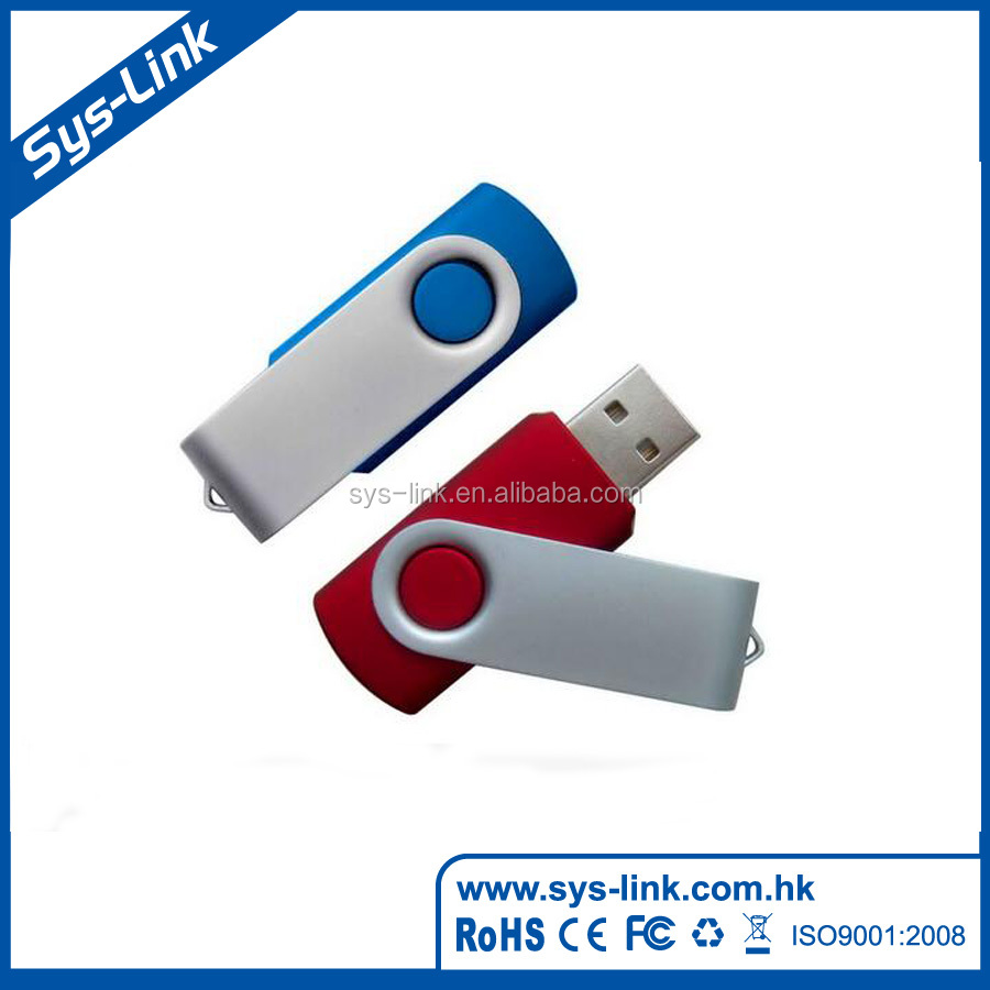 Chinese manufacturer 15.9g 2gb swivel usb flash memory disk