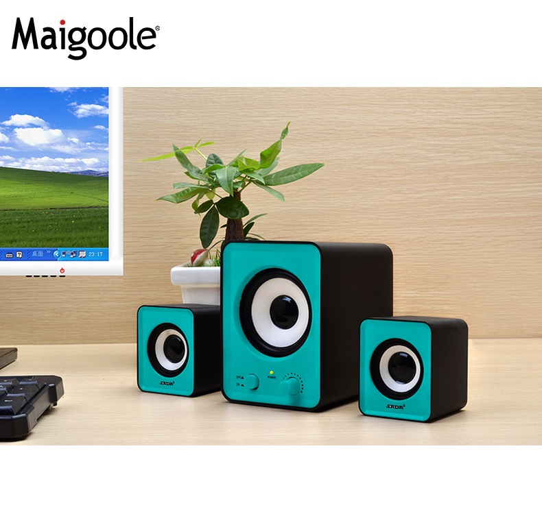 home 2.1 multimedia speaker sound system 3-way speaker box