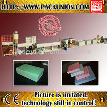 plastic machine xps foam sheet extrusion line