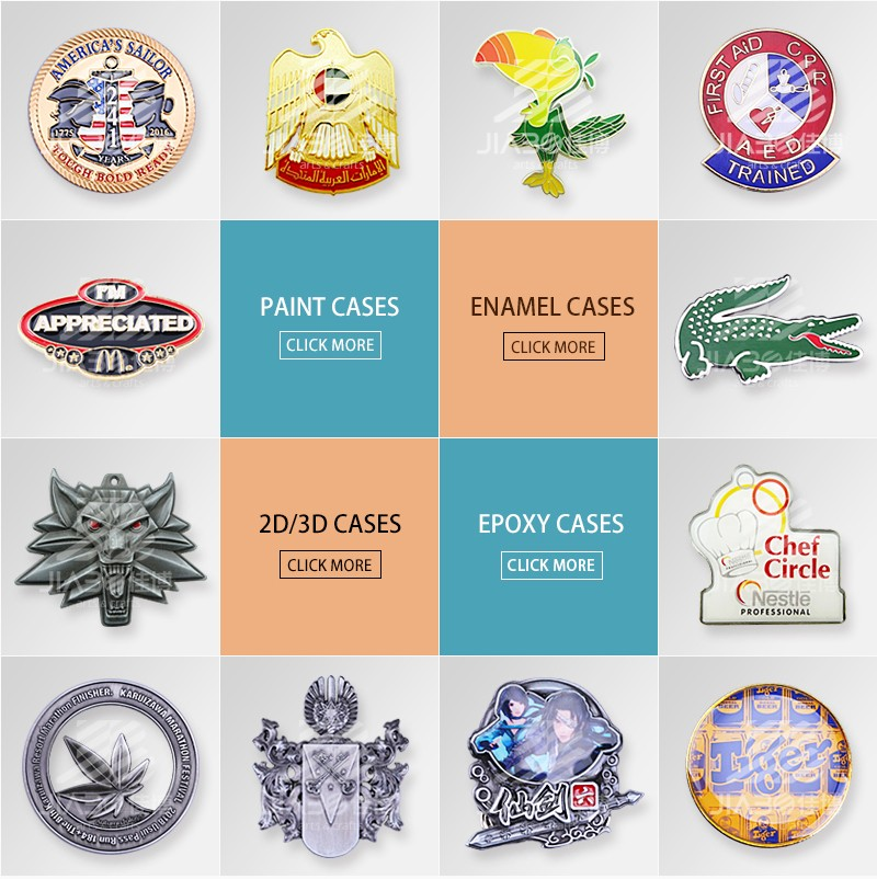 customized made Cartoon zinc alloy hard enamel lapel pin badge