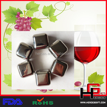 Best selling wine accessory gadget stainless steel wine cooler ice cubes