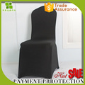 220g black wedding spandex elastic chair cover