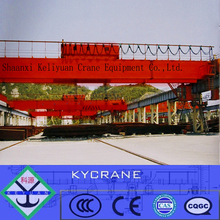 300 ton heavy duty double girder overhead crane with electric mobile trolley