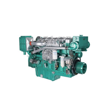 400HP water cooling YUCHAI YC6T400C marine engine