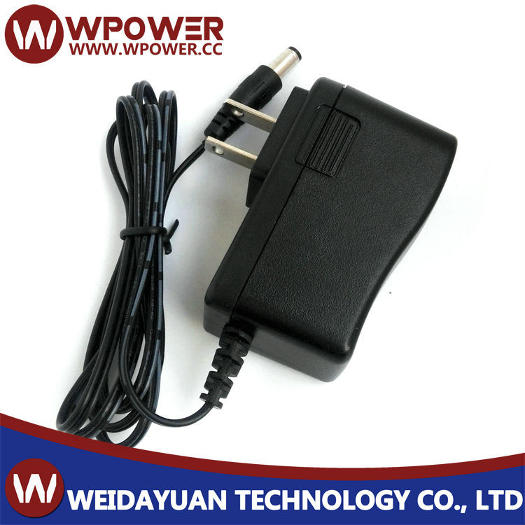 9V 1A 9W Plug In AC To DC Switching Mode Power Supply Adapter