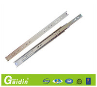 Elegant Simple High Quality alibaba china supplier 3 fold full extension metal track install cabinet drawer slide rail