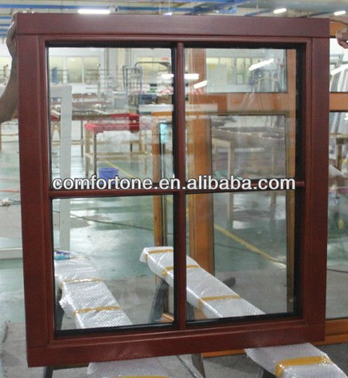 Wood picture window