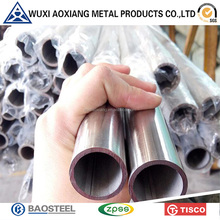 Building Materials PVC Coated Stainless Steel Tube Harga Pipa SS