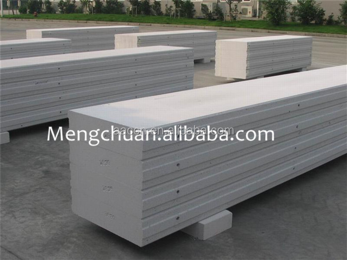 lightweight concrete block interlocking concrete blocks for AAC production line from Shanghai city at Mengchuan company