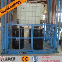 outdoor electric lift china/hydraulic cargo lifting equipment