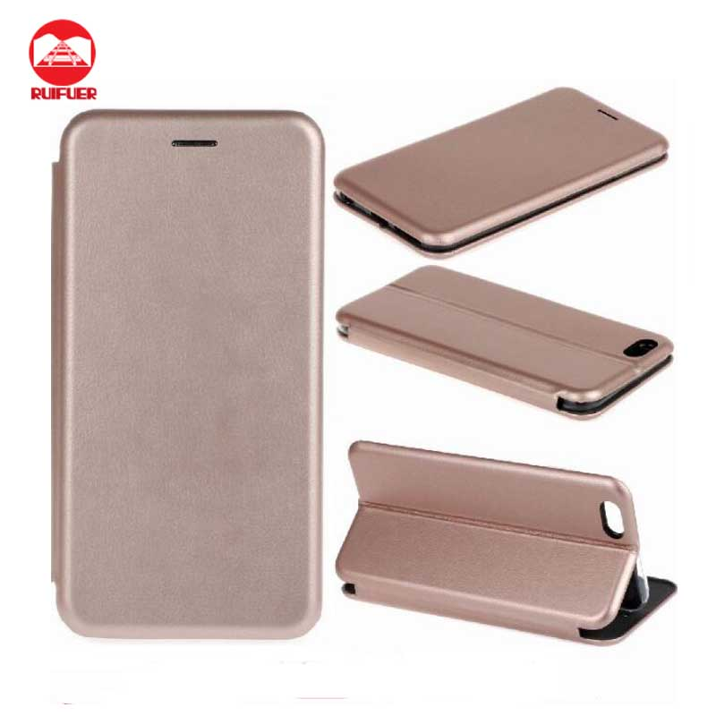 Manufacturer Wholesale 2016 Full Cover Slim Wallet Leather Flip Case for iphone 7 Plus